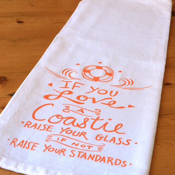 Coastie Tea Towel