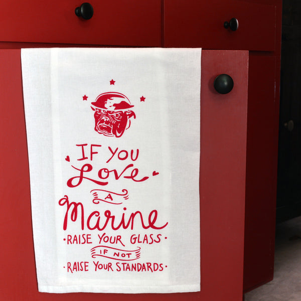 Marines Tea Towel