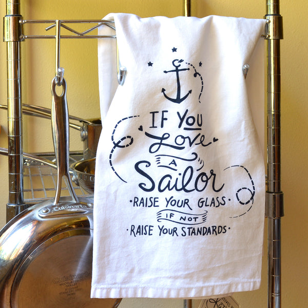 Sailor Tea Towel