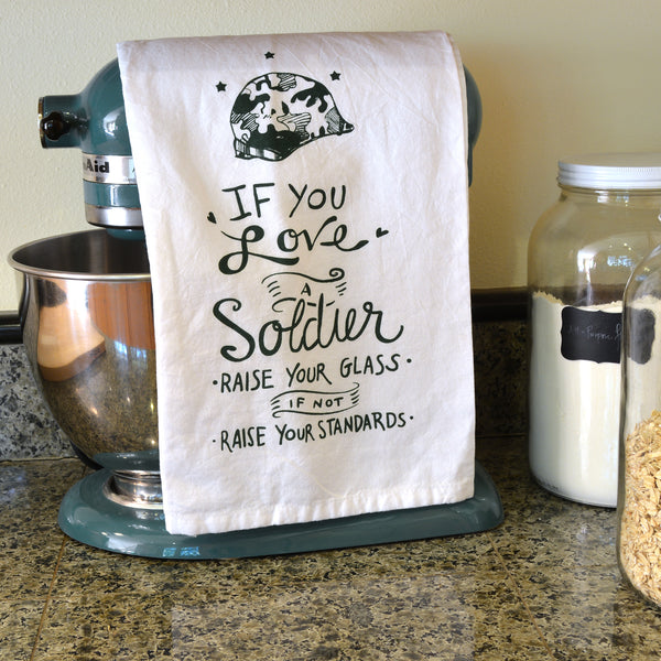 Soldier Tea Towel