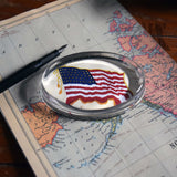 Flying Flag Paperweight