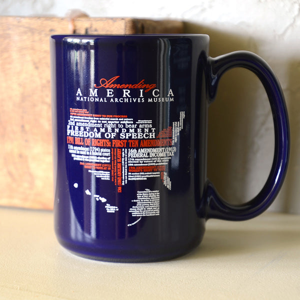 Amending America Word Cloud Mug