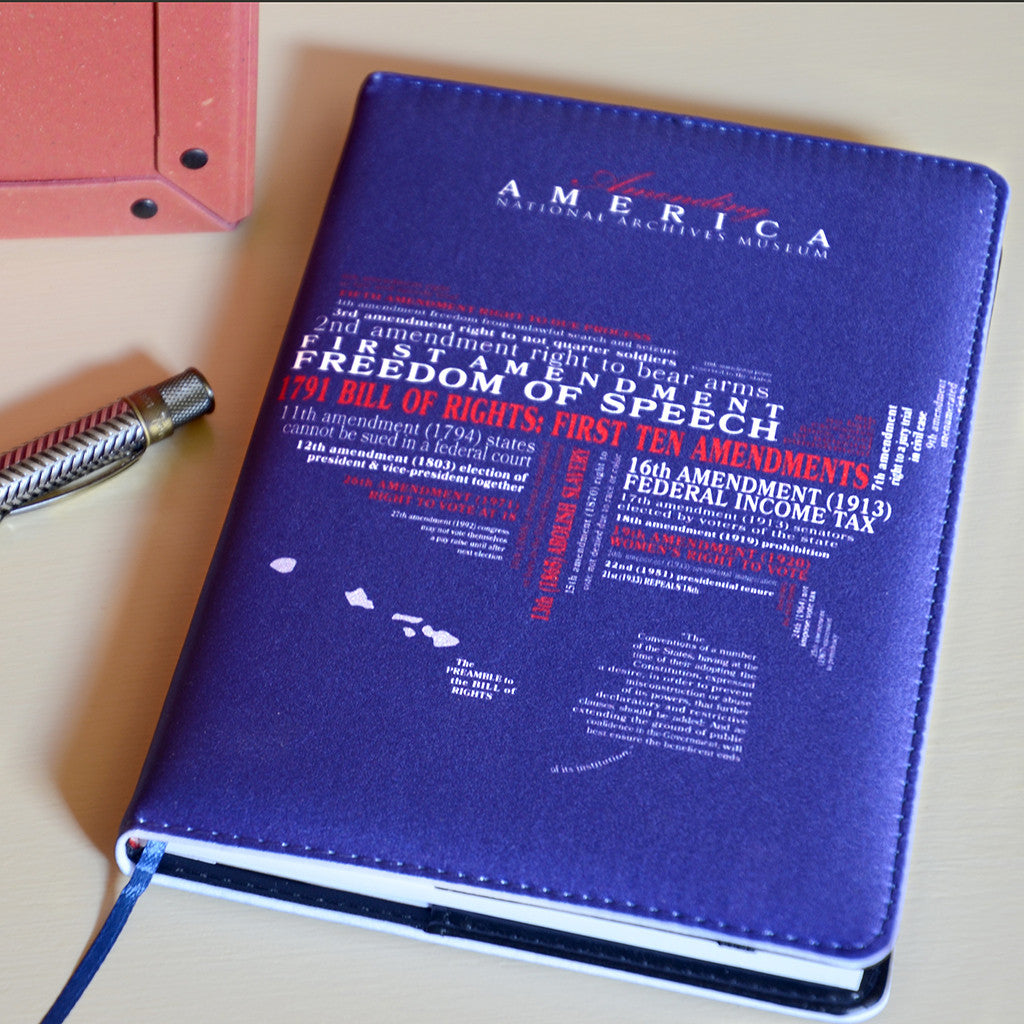 Amending America Word Cloud Writing Journal