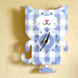 Pendulum Cat Clock
