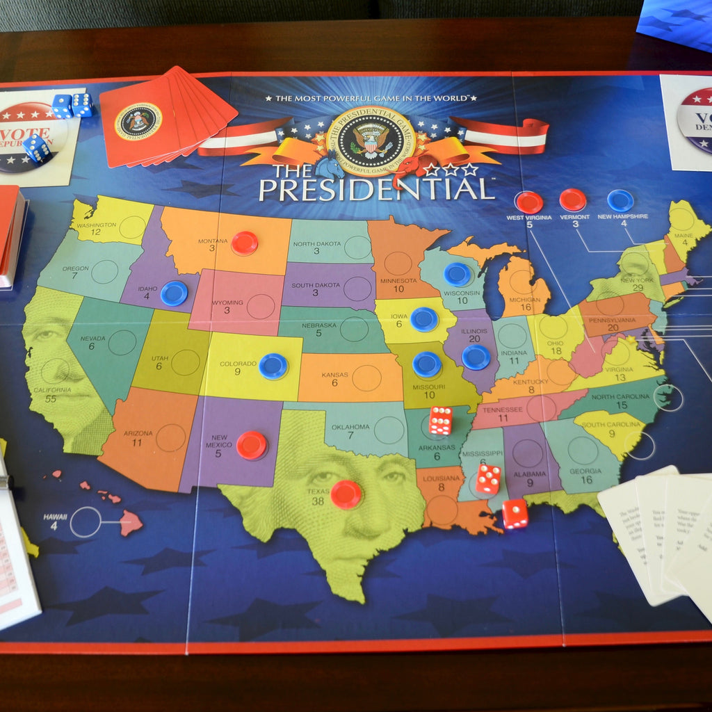 picture regarding Printable Electoral College Map for Kids titled The Presidential Board Recreation Countrywide Archives Keep
