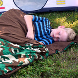 Sleeping Bag Green Camo