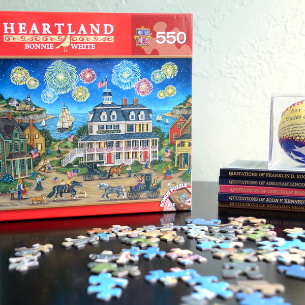 Fireworks Finale 550 Puzzle