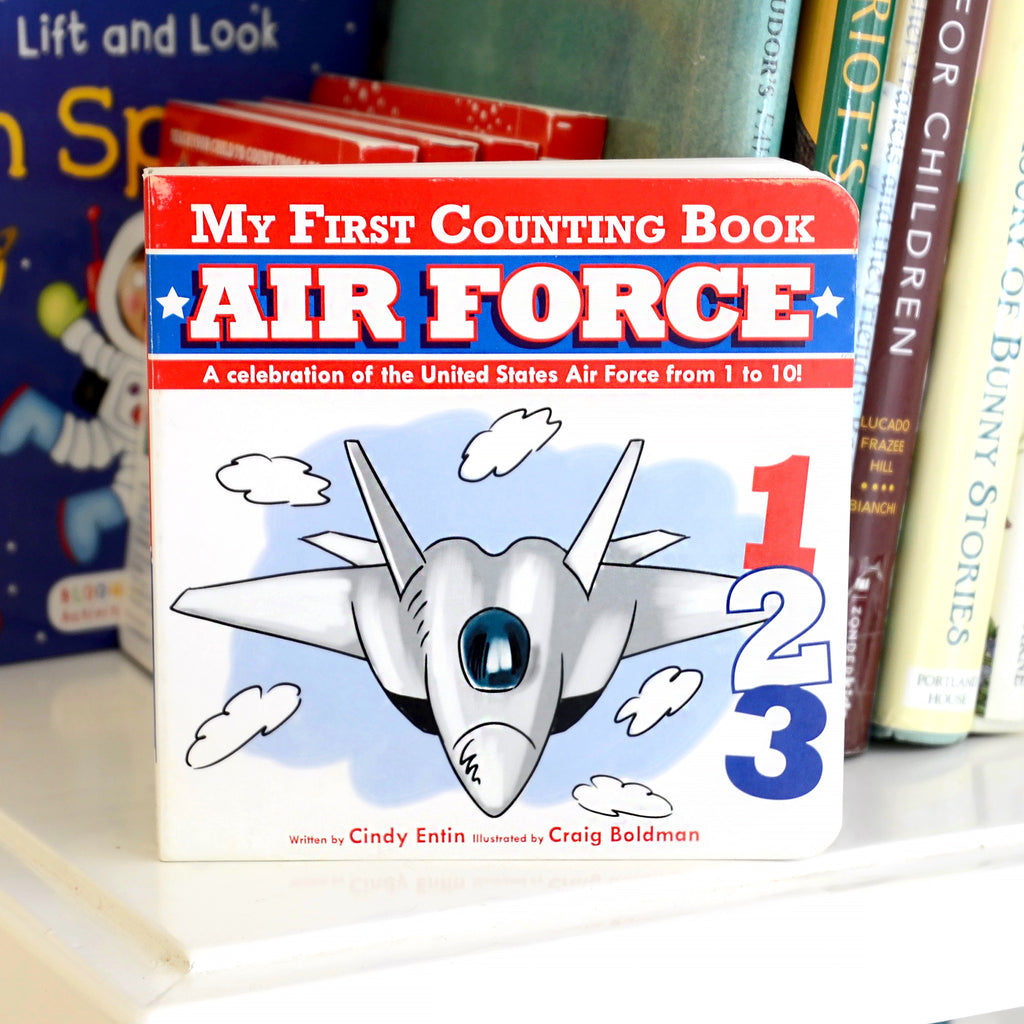 My First Counting Book: Air Force