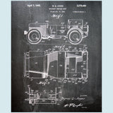 Willy Jeep Canvas Patent Print