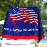 U.S.A. Beach Towel