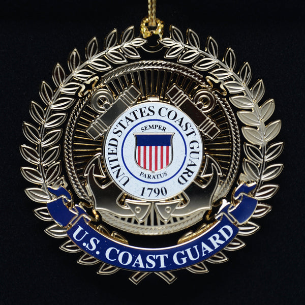 U.S. Coast Guard Logo Ornament