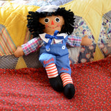 "Raggedy Andy 12"" Brunette Doll"