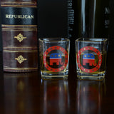 Republican Shot Glasses