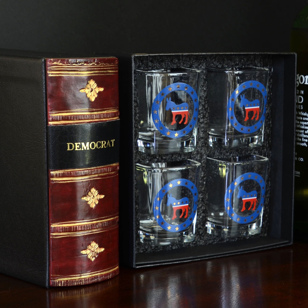 Democrat Shot Glasses