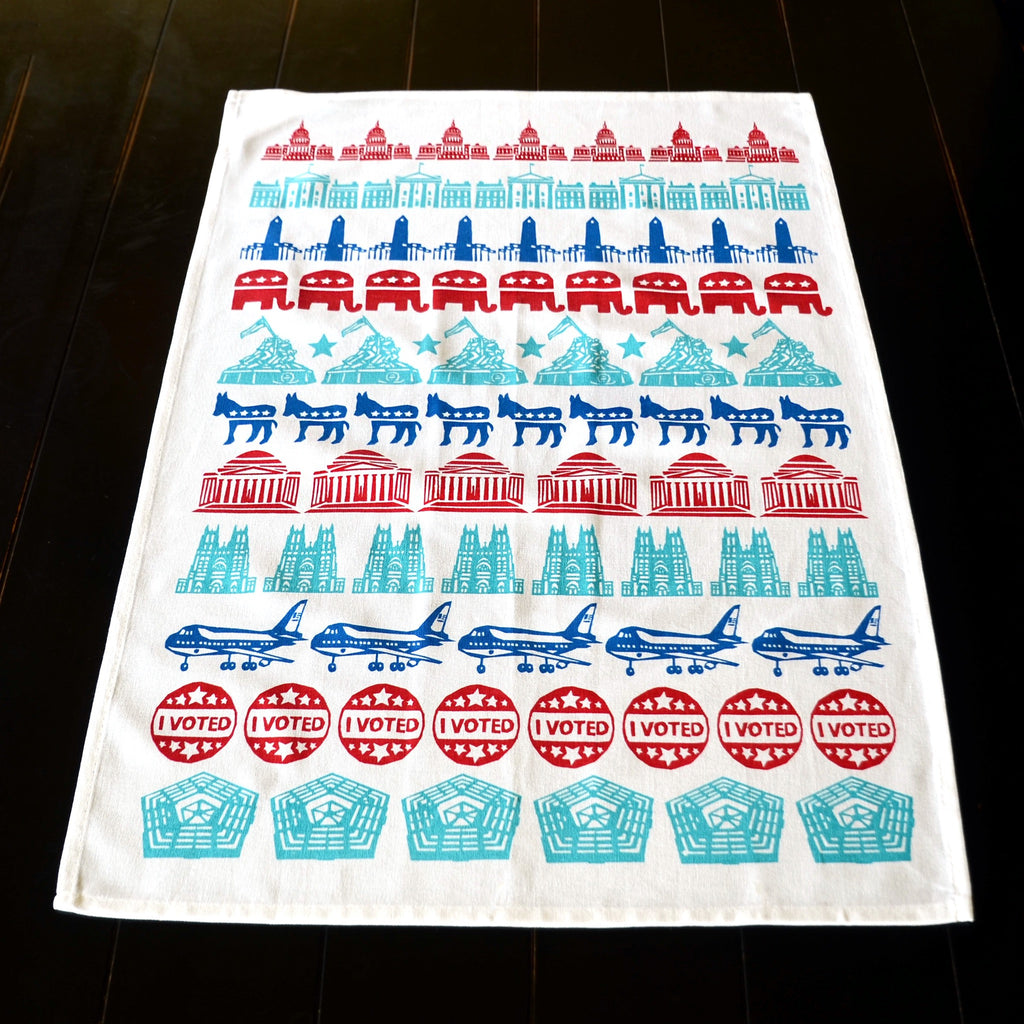 Election Tea Towel