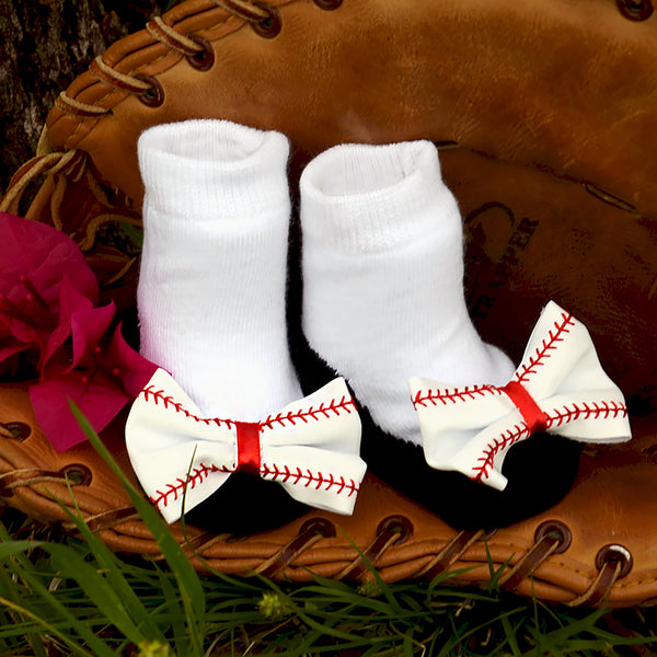 Little All Star White Baby Socks