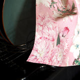 Soft Pink Cherry Blossom Tea Towel