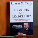 Signed Copy: A Passion for Leadership