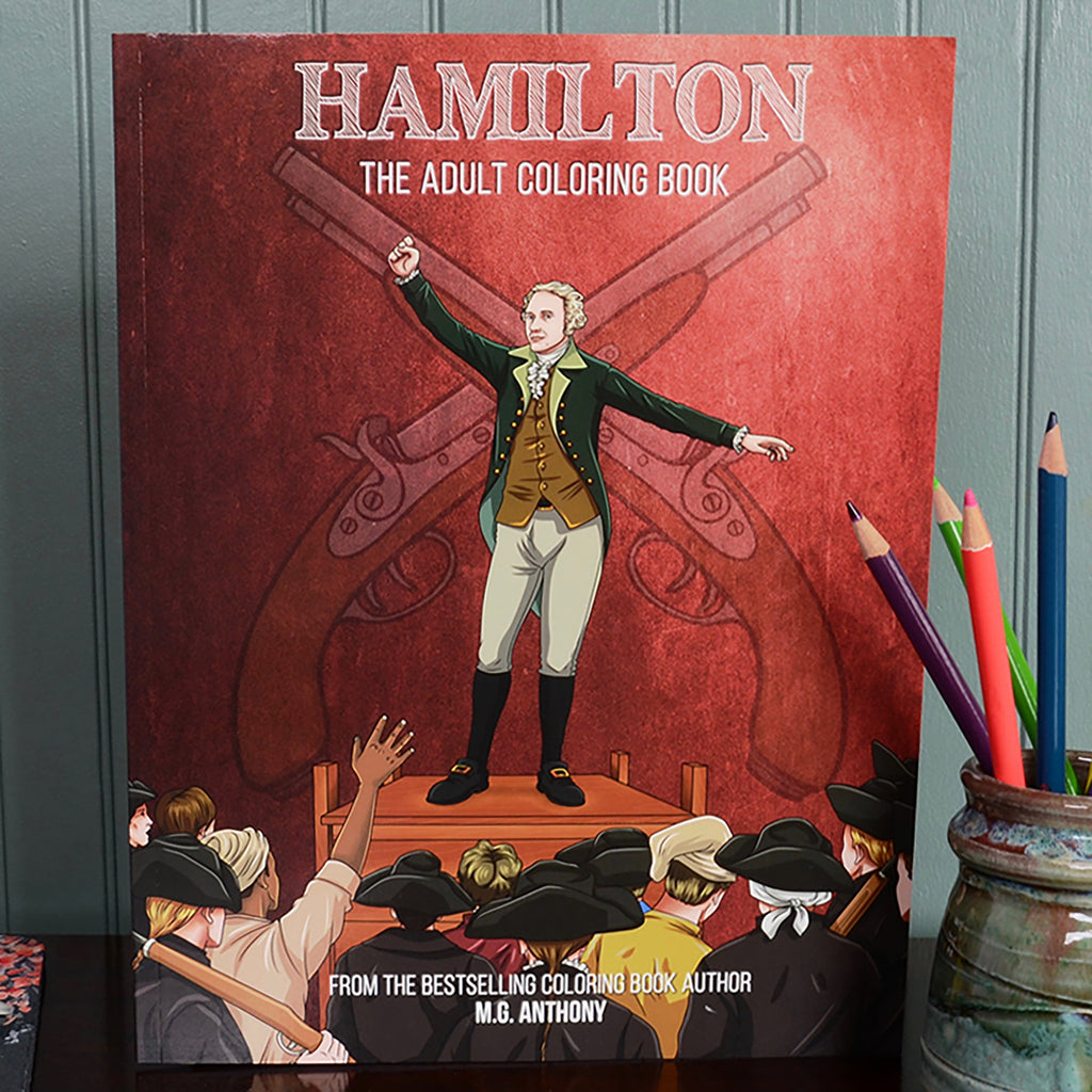 Hamilton: The Adult Coloring Book – National Archives Store
