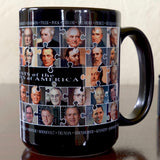 All the Presidents Puzzle Art Mug