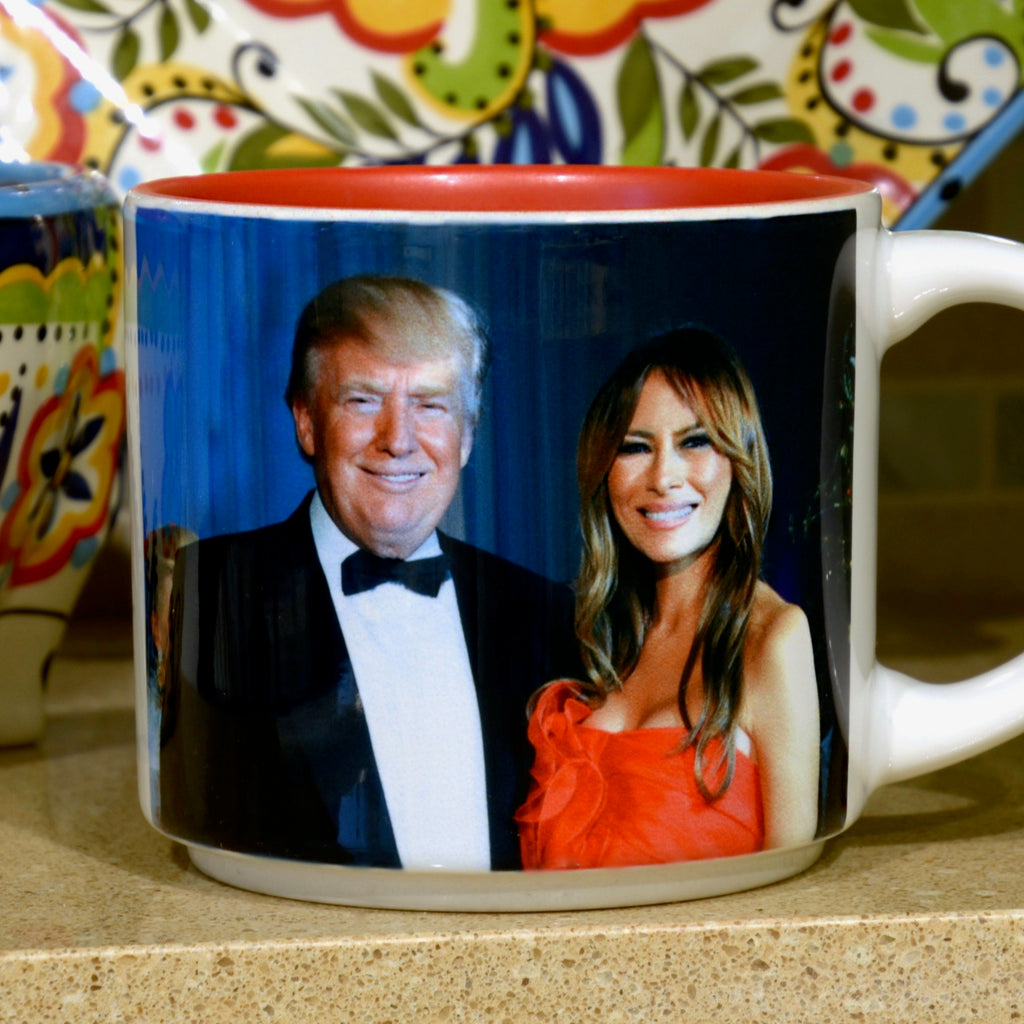 Presidential Couple Mug: Trump