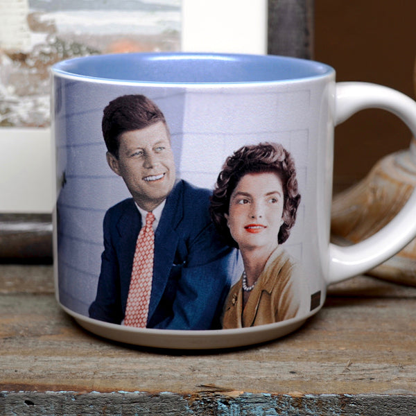 Presidential Couple Mug: Kennedy