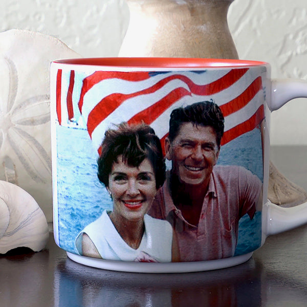 Presidential Couple Mug: Reagan