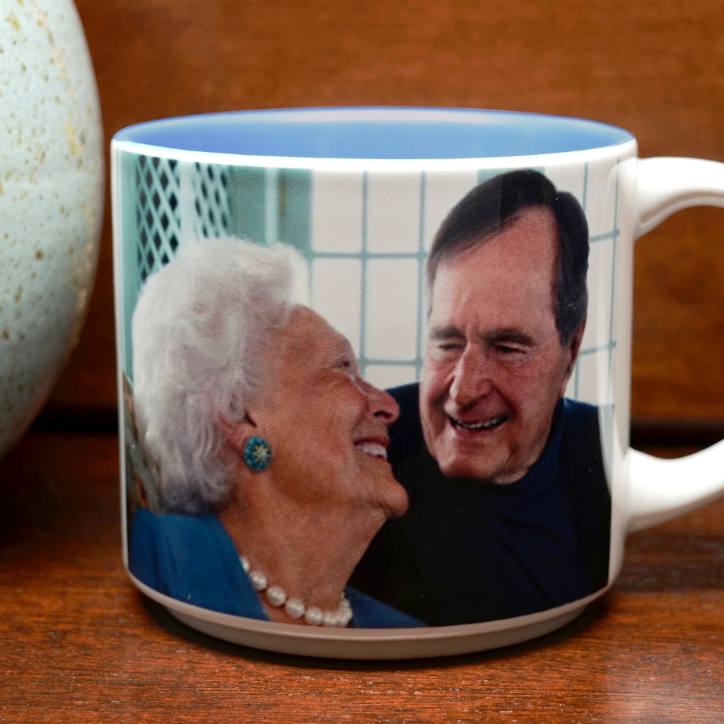 Presidential Couple Mug: George H.W. Bush