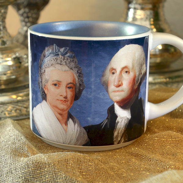 Presidential Couple Mug: Washington