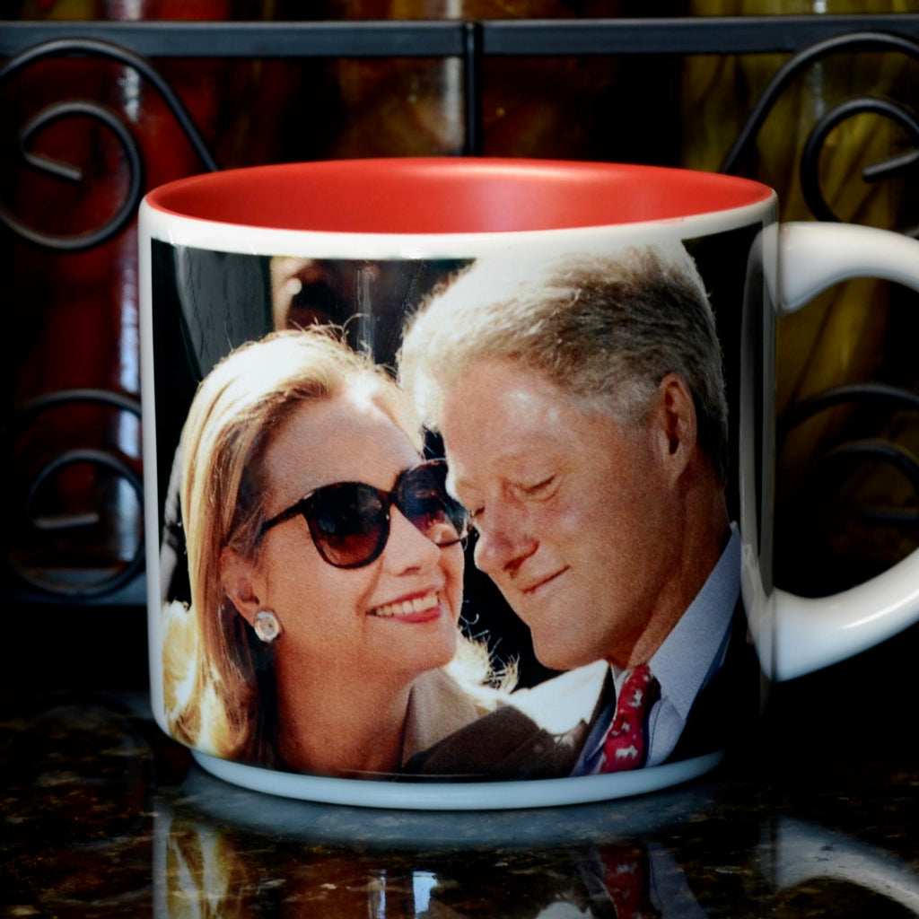 Presidential Couple Mug: Clinton
