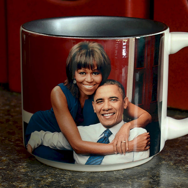 Presidential Couple Mug: Obama