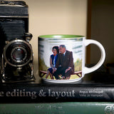 Presidential Couple Mug: L.B.J.