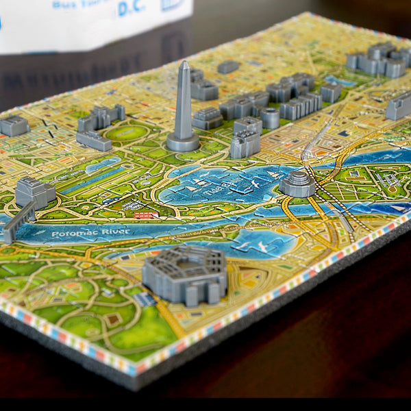 Washington, D.C. 4D Puzzle