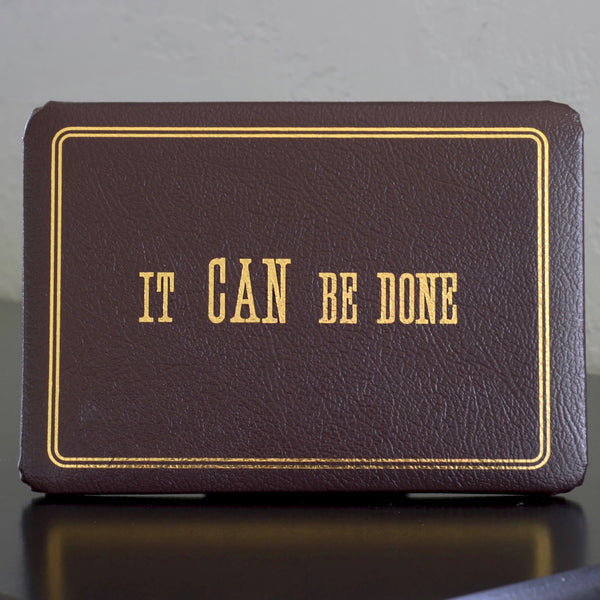 It Can Be Done Ronald Reagan Plaque