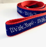 5 Foot Dog Leash: We the People