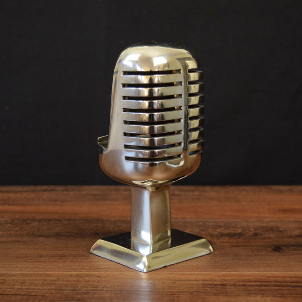 Phone Stand: Aluminum Microphone