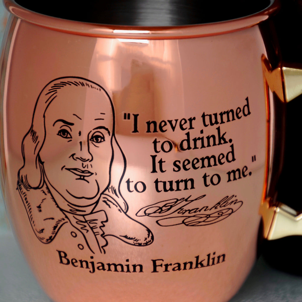 Franklin Copper Mule Mug