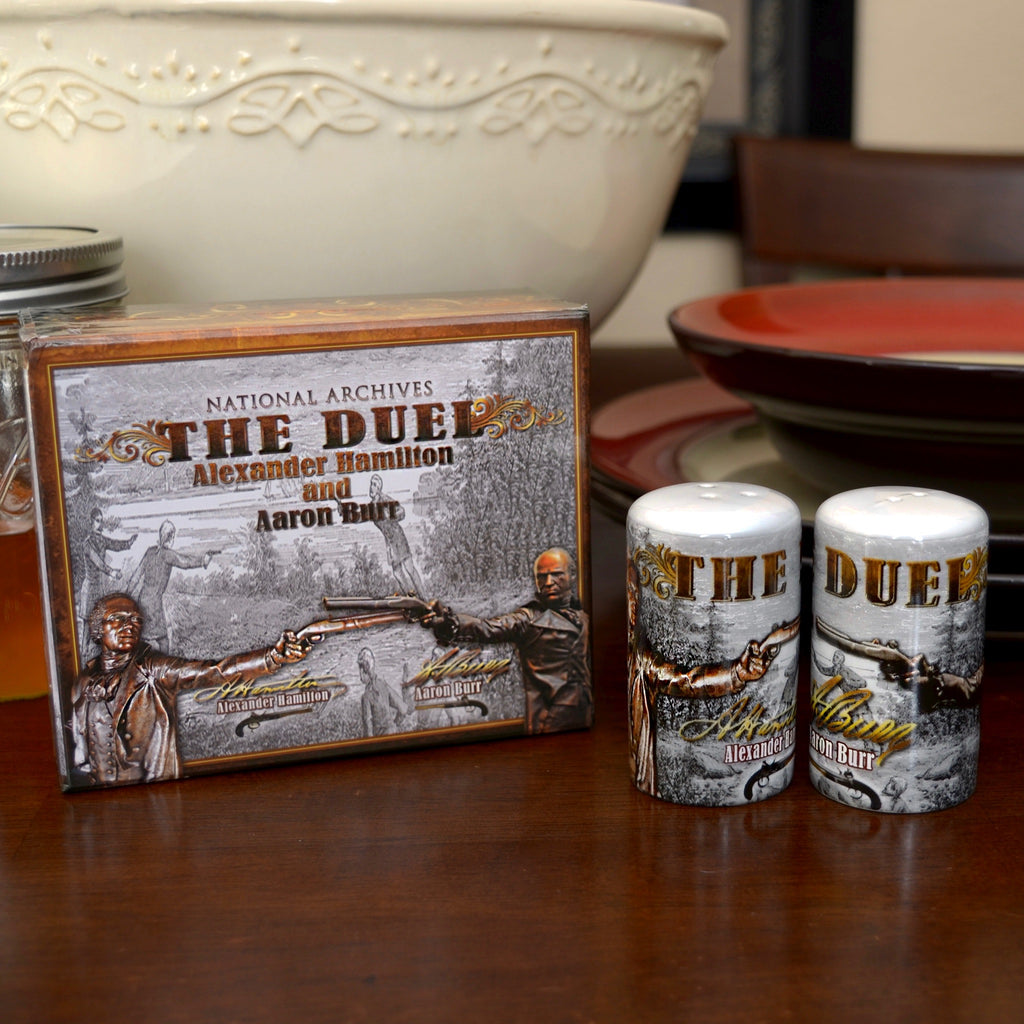 The Duel Salt & Pepper Shaker Set