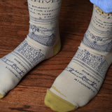 Typewriter Patent Socks