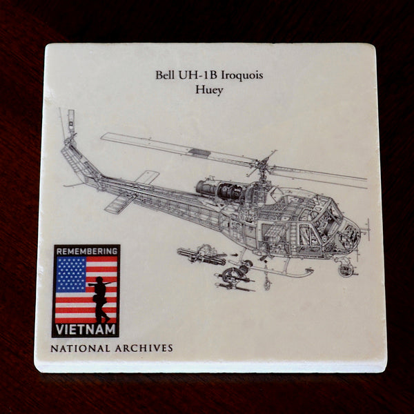 Bell Huey UH1B Iroquois Helicopter Coaster