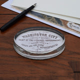 Washington City Paperweight