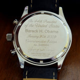 Commemorative Edition President Obama Chronograph Watch