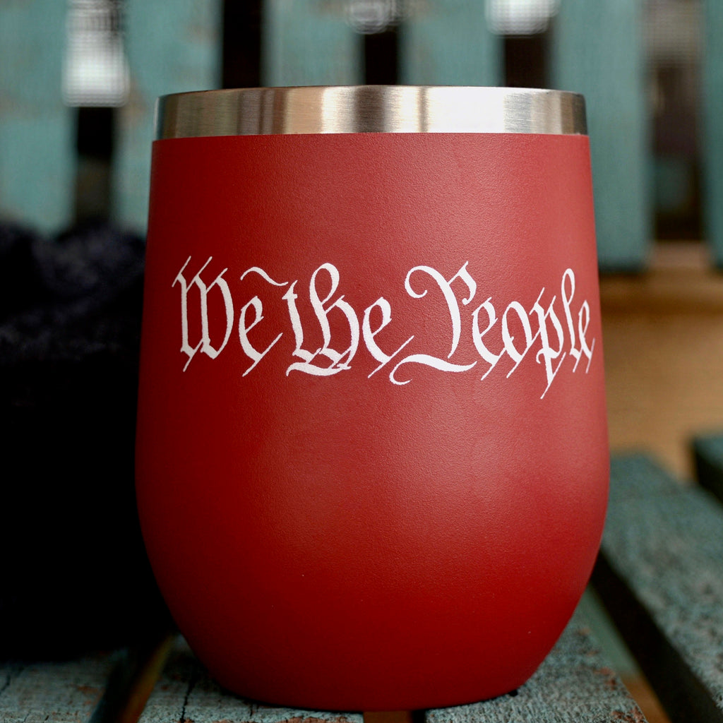 We the People Red Tumbler