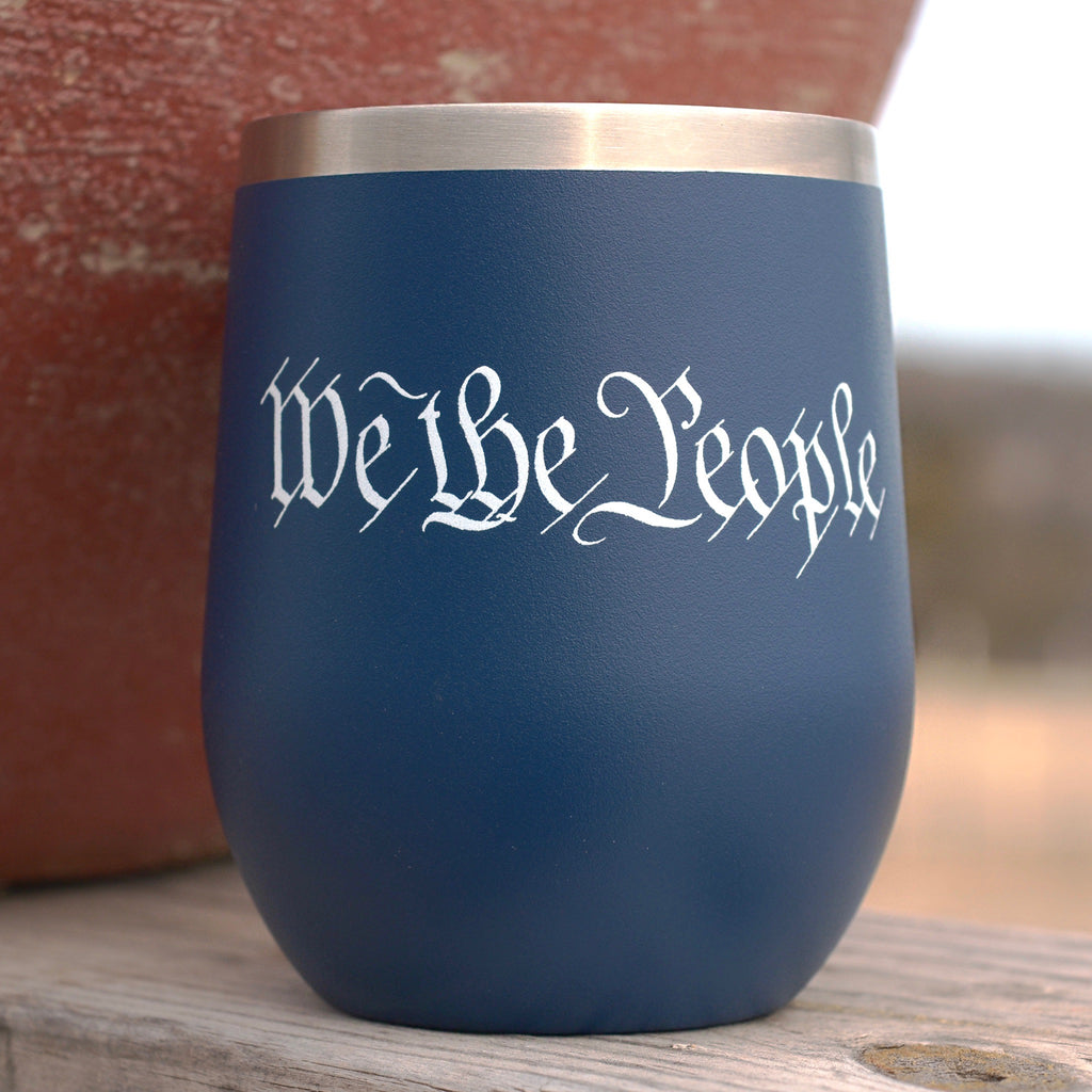 We the People Blue Tumbler
