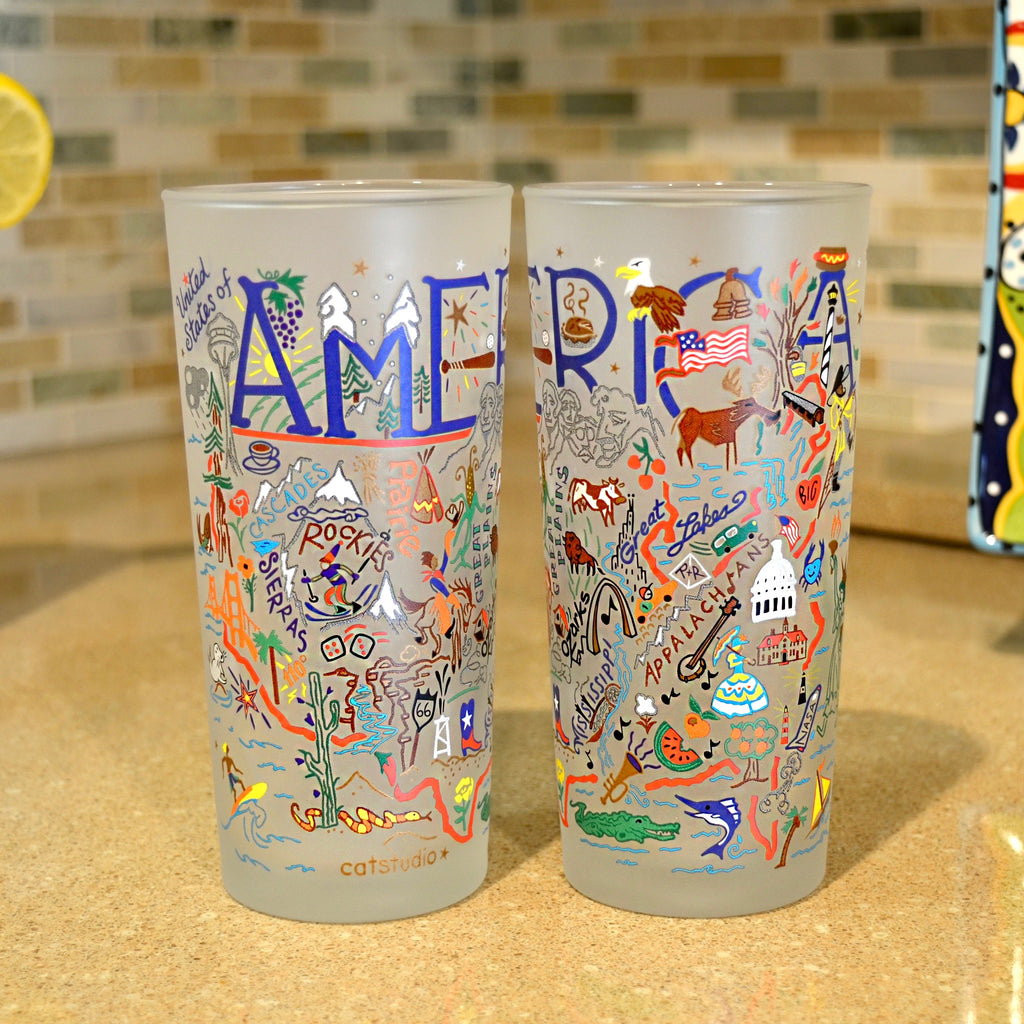 America Frosted Glass