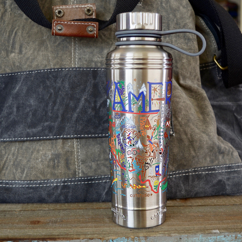 America Thermal Water Bottle