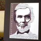 Lincoln Emancipation Matted Print