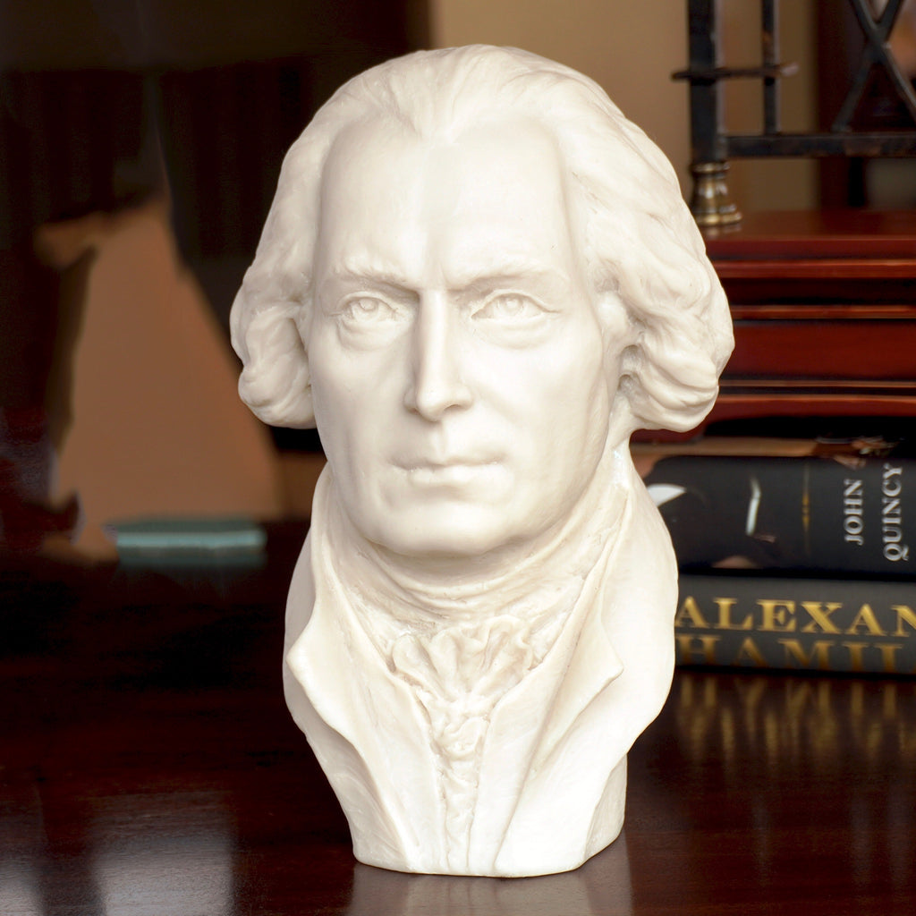 James Madison 11-inch White Bust
