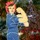 Rosie the Riveter Ornament