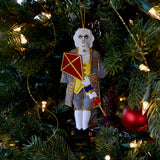 Benjamin Franklin Ornament